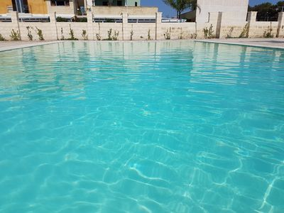 Photo for Apartment with swimming pool 1 km from the sea