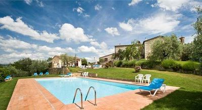 Photo for Holiday apartment Castellina in Chianti for 1 - 4 persons with 2 bedrooms - Holiday house