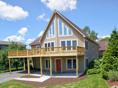 Photo for Walk About Chalet- Lake Access Home w/ Community Dock Slip