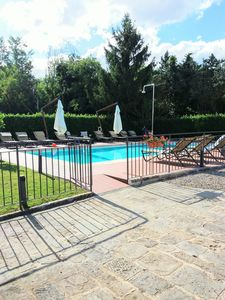 Photo for Siena countryside luxury property, shared pool, ideal base to discover Tuscany