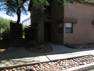 Photo for Enchanting 2 Bedroom First Floor with Picture Perfect Mountain View Windows!