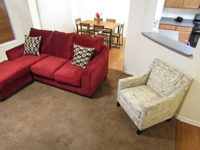 Photo for ATL Stay (Walking Distance to Six Flags) Low Cleaning Fee/Garage Parking