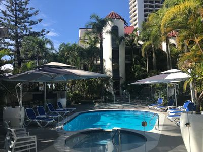 Photo for Boutique Beach Side One Bedroom Central Surfers Paradise