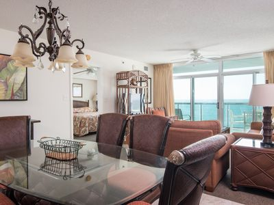 Photo for Blue Water Keyes -  906 Spacious 3 bedroom condo overlooking the ocean!