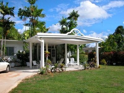 Photo for 'Hideaway' Lovely Private 2 Bedroom Home Minutes from Beach
