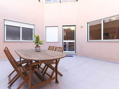 Photo for With terrace 2 room apartment near Martim Moniz Square