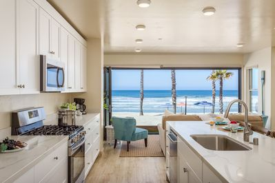 Kitchen Overlooking Ocean