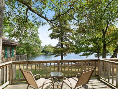 Photo for Adorable, motel-style rental w/ shared dock & sports courts - dogs welcome!