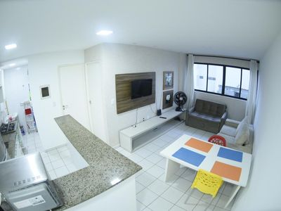 Photo for Flat 150m from the beach of Jatiuca