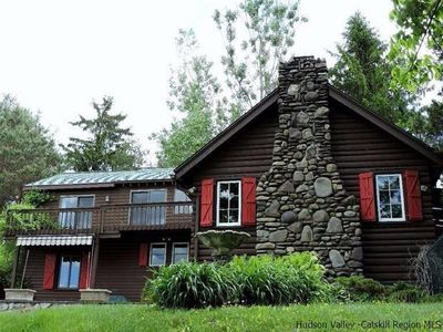 Photo for Wow!  New Luxury Listing -Catskills Mountain/Ski Retreat ***MILE-LONG VIEWS***