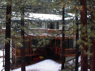"Photo for ""TahoeTarns"" Large Vacation Home, at Zephyr Cove Resort, Near Skiing/Casinos"