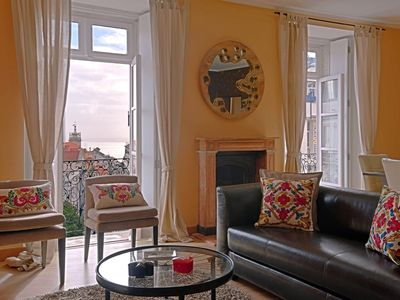 Photo for Chiado Trindade I -spacious, fantastic view, beautiful, in incredible location
