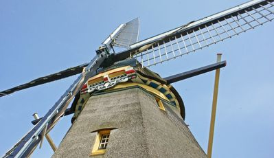 Photo for Windmill close to Amsterdam, 3 bedrooms, bathroom, kitchen, living room, view