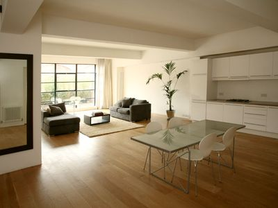 Photo for LUXURY LOFT APARTMENT. LARGE, CENTRAL AND MODERN! QUIET LOCATION.