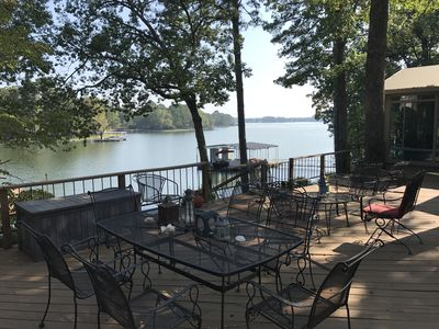 Photo for House on Lake Hamilton Sleeps 17 in beds