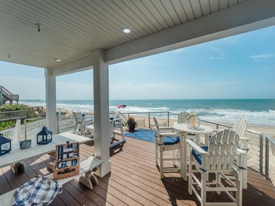 Photo for Chairman of the Board:  5BR, 3BA, Sleeps 10 - oceanfront in Surf City!
