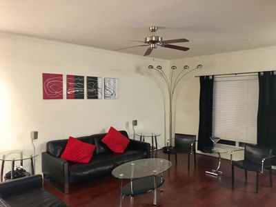 Photo for Ultra modern 2 bedroom 2 and a half bath townhome for Superbowl weekend!!