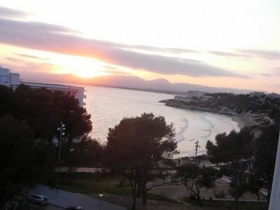 Photo for Salou nice apartment facing the beach feet in the water 2 to 4 people