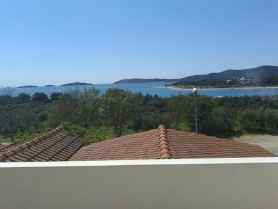 Photo for Studio flat with terrace and sea view Solaris, Å ibenik (AS-12269-b)