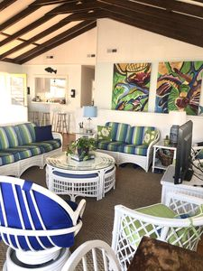 Large Avalon Home, One Block to Beach