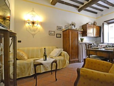 Photo for We are on the second floor of a small Cortonese building expertly renovated over the years to cr...