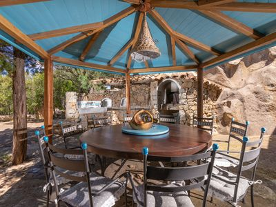 Photo for Mediterranean Villa with Pool, Terrace, Garden and Wi-Fi