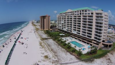 The condo is located on the Perdido Key.  Beach walks with endless possibilities