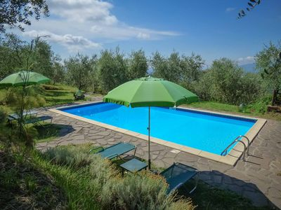 Photo for LECCIO - apartment in a farmhouse with swimming pool. Close to LUCCA. WIFI