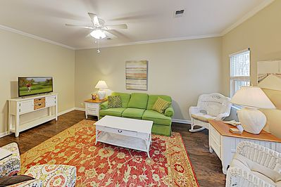 Living Area - Welcome to the beach! This duplex is professionally managed by TurnKey Vacation Rentals.
