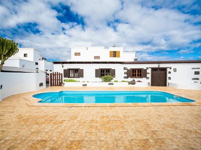 Photo for Air-Conditioned Villa with Pool, Terrace, Amazing Garden & Mountain View; Parking Available