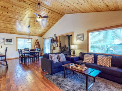 Photo for Spacious escape features a hot tub and a prime alpine location near skiing, golf