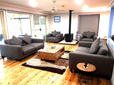 an awesome living area for the whole family!
