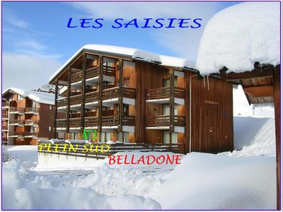 Photo for APARTMENT ON THE GROUND FLOOR FULL SOUTH WITH PARKING NEAR THE SLOPES