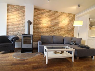 Photo for Skipper Lodge, in a quiet location on the Alter Strom - family friendly, modern, particularly