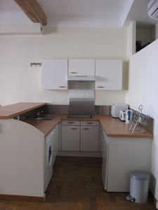 Fully equipped kitchen with everything you'll need