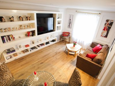 Photo for Adorable two-story suite in St Germain des Pres next to the Luxembourg Gardens