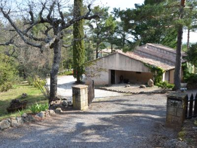 Photo for THE DRINGUELLE PROVENCAL HOUSE IN A DOMAIN WITH SWIMMING POOL AND TENNIS AND A LAKE
