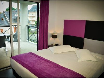 Photo for Modern Studio in Heart of La Baule w/ Free WiFi, Flat Screen TV & Resort Pool