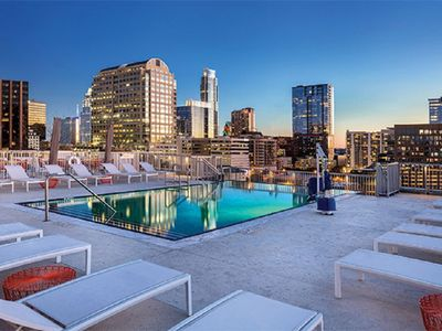 Photo for The ACL Music Festival is yours to enjoy from this 2 BR condo October 3-7, 2019