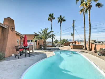 Photo for Luxe Lake Havasu Home w/ Fire Pit, Pool & Hot Tub!