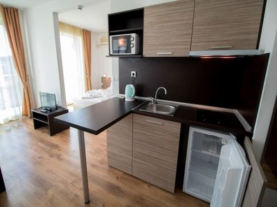 """Photo for Apart-hotel """"Clara"""" (Apartment with Terrace ) is located in Sarafovo,  Bulgaria"""