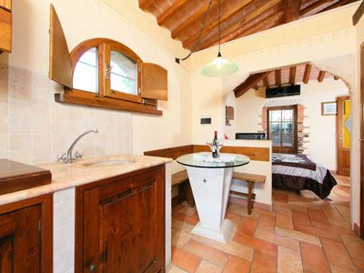 Photo for Apartment in Rapolano Terme with Internet, Pool, Air conditioning, Parking (126493)