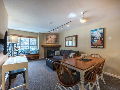 Photo for Whistler Paradise-2 bdrm w/ Free Parking, Hot Tub & Mountain Views