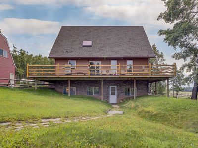 Photo for Millarville 80's Rustic 3BD Farmhouse