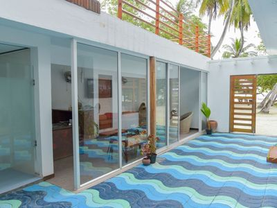 Photo for Maldives Beach Villa, Himmafushi Island