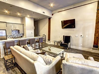 Photo for Newly renovated, spacious Warehouse District condo steps from FQ & Mississippi River