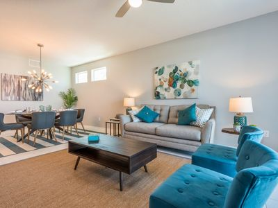 Photo for Enjoy Orlando With Us - Storey Lake Resort - Feature Packed Relaxing 3 Beds 2 Baths Townhome - 5 Miles To Disney