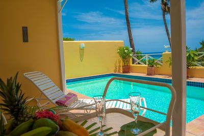 Go for a dip or relax beside your own private pool.