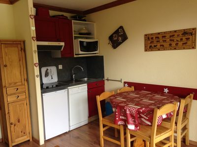 Photo for Apartment 4 people in 4-star residence with heated pool and sauna