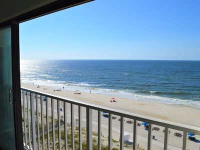 Photo for Directly on the beach with perfect Gulf view!